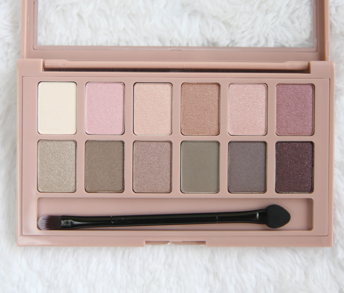 Bảng phấn màu mắt Maybelline THE BLUSHED NUDES® EYE SHADOW PALETTE