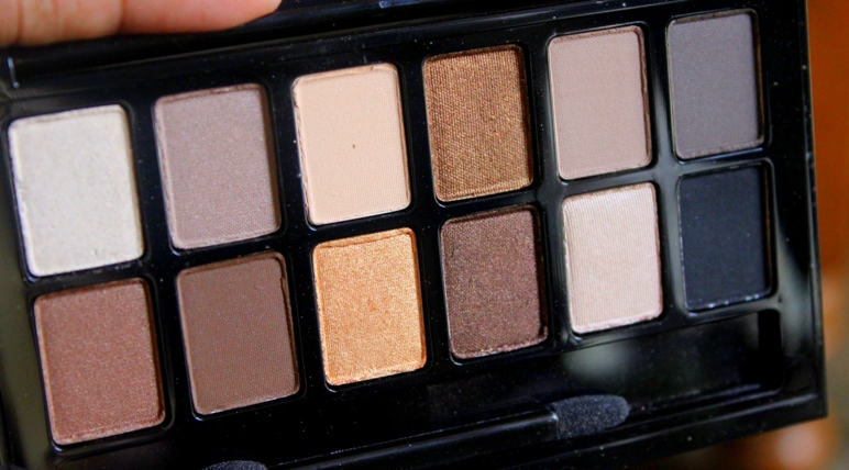 Bảng phấn màu mắt Maybelline THE NUDES EYE SHADOW PALETTE