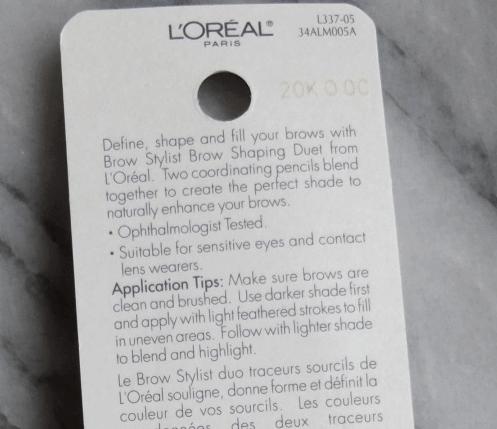 Bút kẻ lông mày  L'Oréal Custom Brow Shaping Pencil