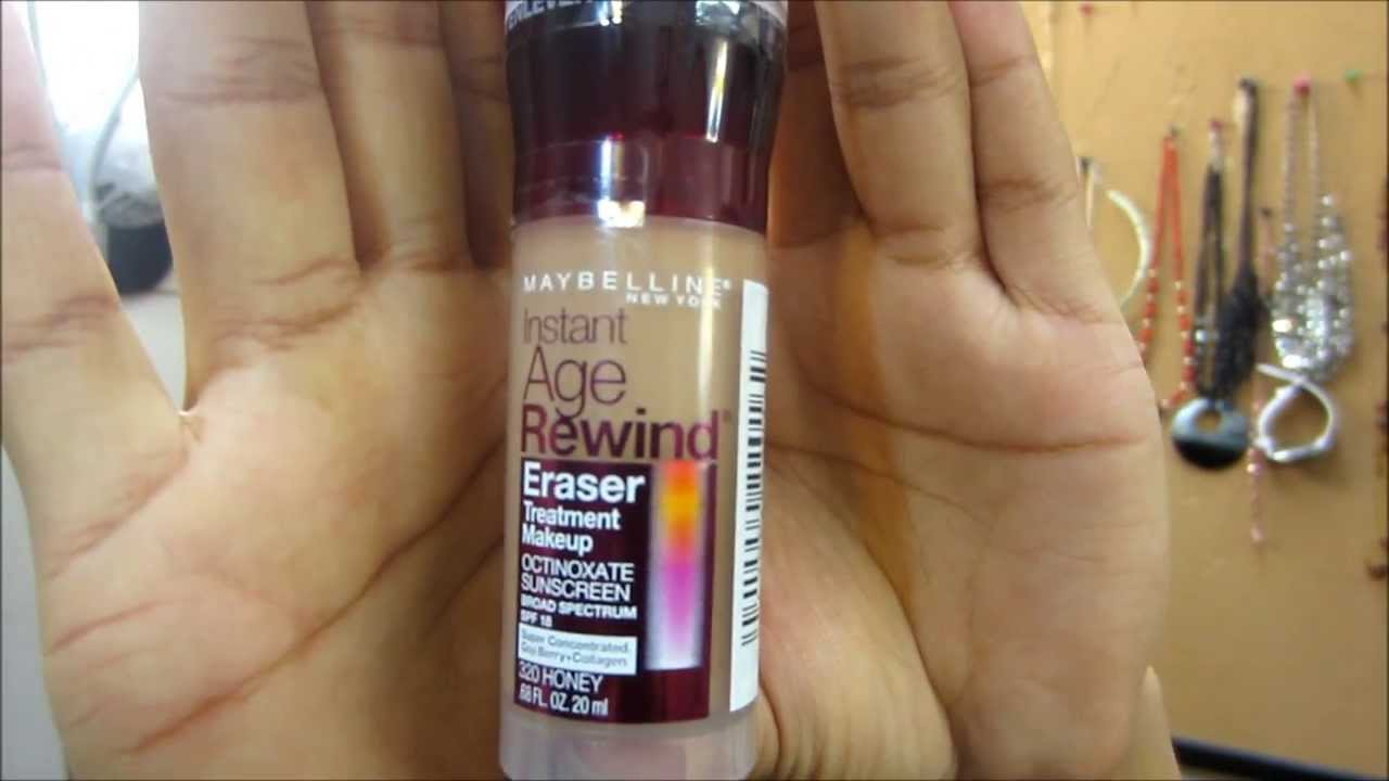 Kem nền Maybelline INSTANT AGE REWIND® ERASER TREATMENT MAKEUP