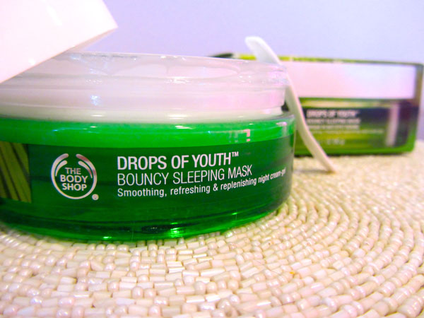 Mặt nạ ngủ TheBodyShop DROPS OF YOUTH™ YOUTH BOUNCY SLEEPING MASK 90ML
