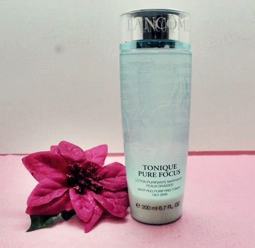 [Review] Nước hoa hồng Lancôme Tonique Pure Focus.