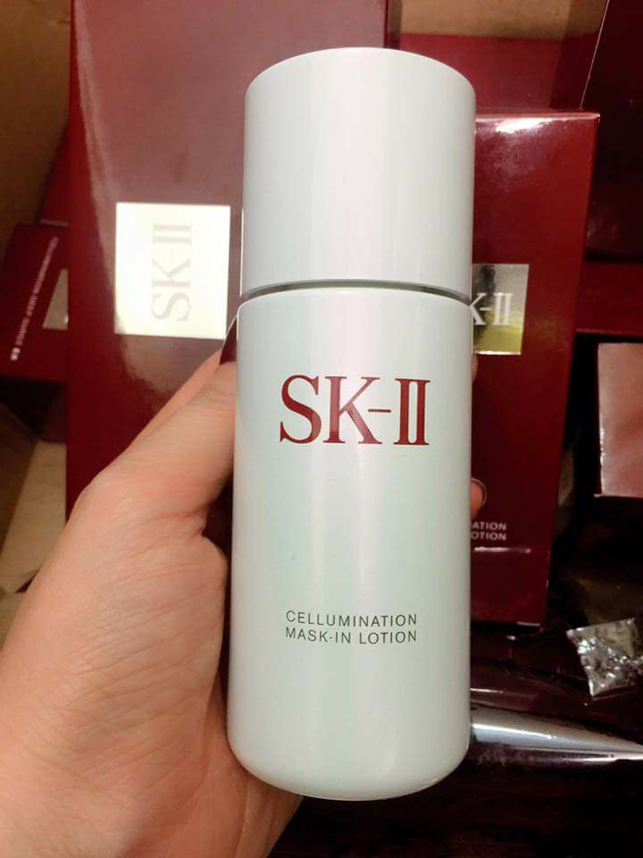 Nước hoa hồng SK-II Toners SK-II Cellumination Mask-in Lotion