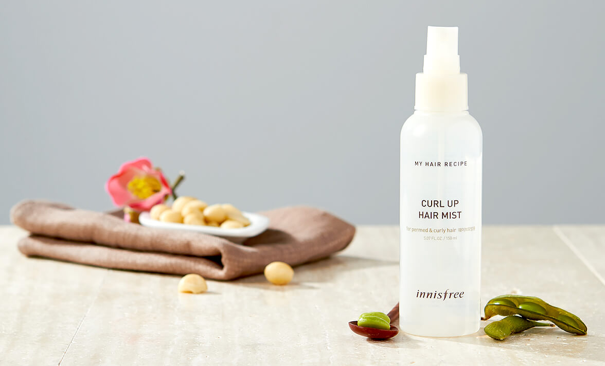 Nước xịt INNISFREE Hair My hair curl up hair mist