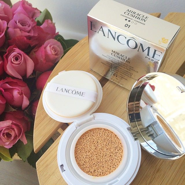 [Review] Phấn nước Lancôme Miracle Cushion.
