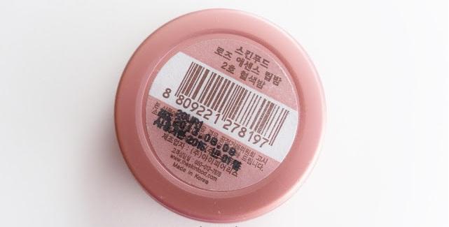 Sáp dưỡng môi SKINFOOD ROSE ESSENCE LIP BALM (NO.2 TINTED BALM)