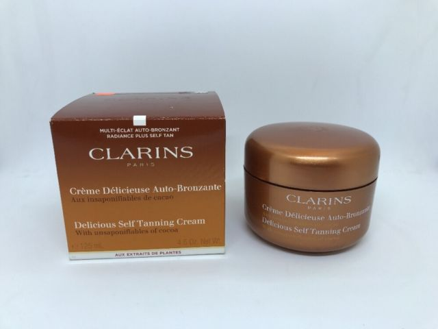 Kem chống nắng Clarins Suncare Delicious Self Tanning Cream