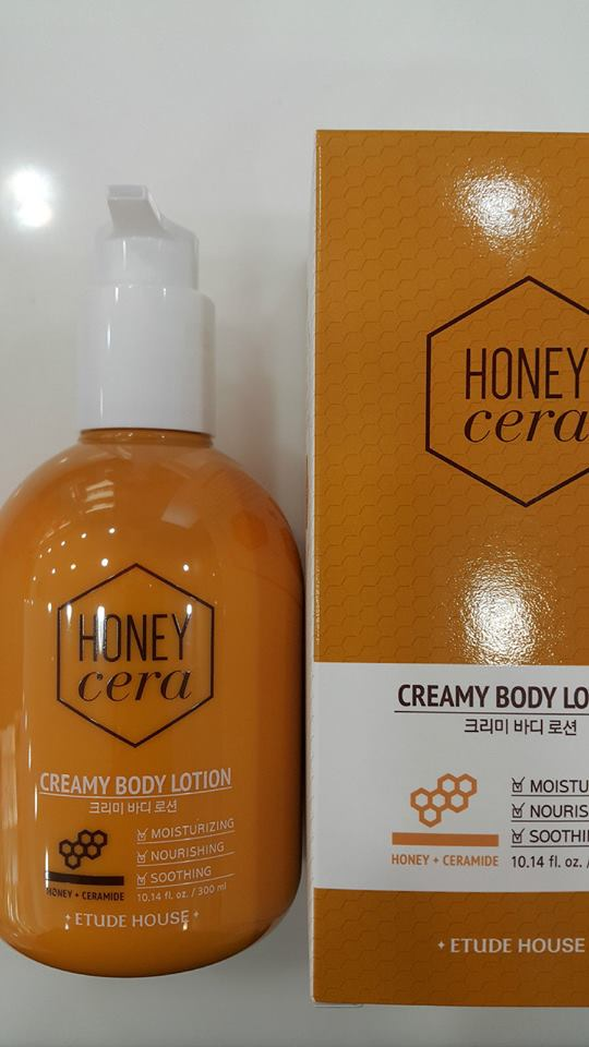 Kem dưỡng ETUDE HOUSE BODY Honey Cera Creamy Body Lotion