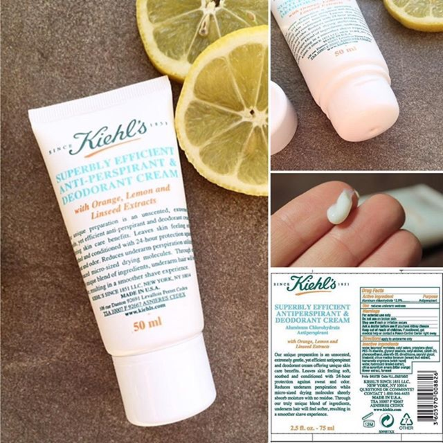 Kem khử mùi Kiehl's Superbly Efficient Anti-Perspirant and Deodorant