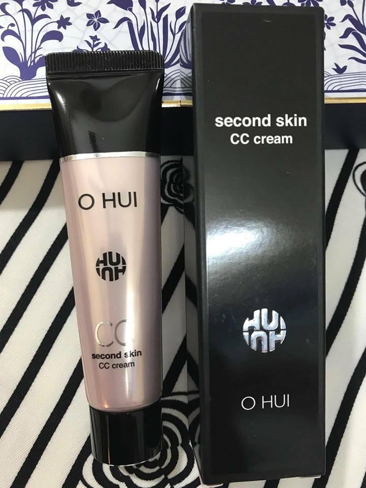 Kem Nền Ohui Second Skin CC Cream .
