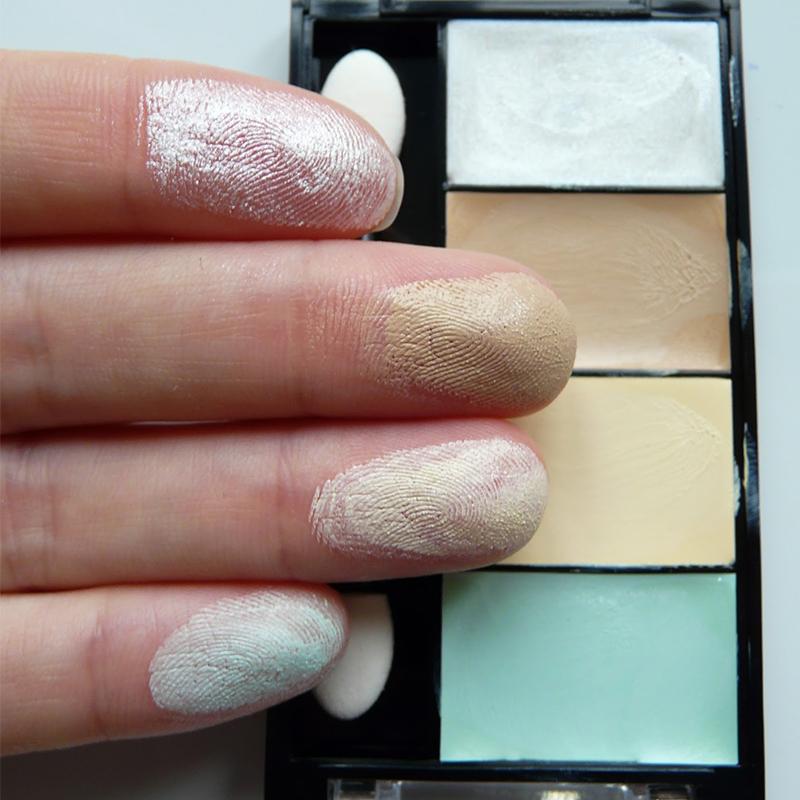 phấn mắt Dermacol Make Up Corrector palette