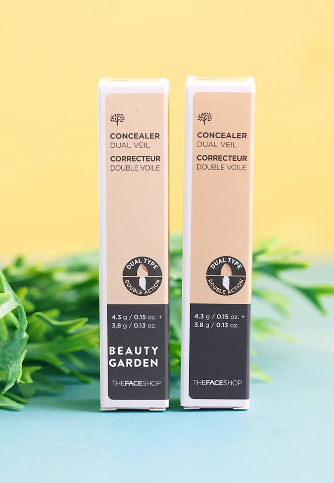 Thanh che khuyết điểm THEFACESHOP FS CONCEALER DUAL VEIL V201
