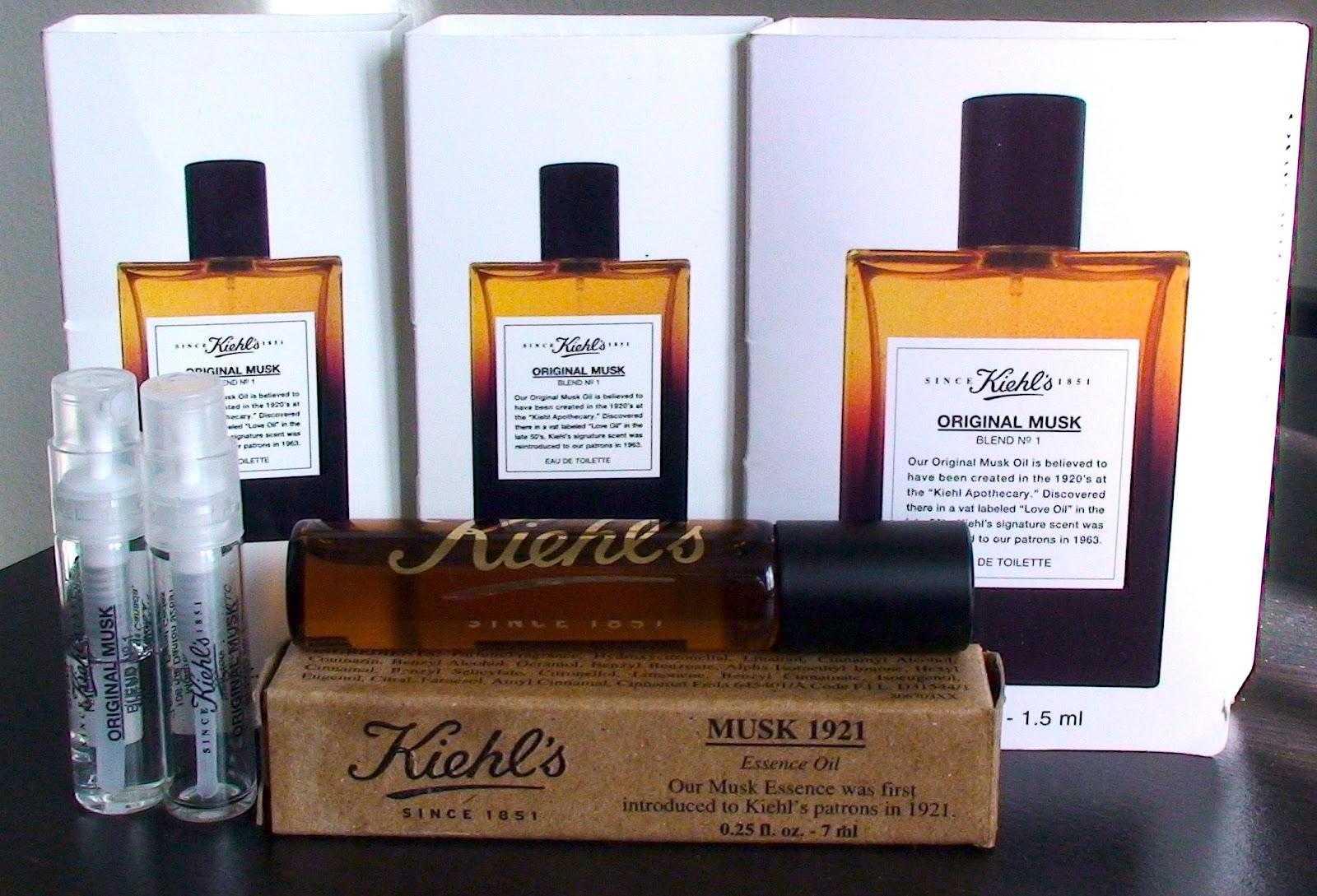 Tinh chất Kiehl's Chăm sóc body Musk Eau de Toilette Spray