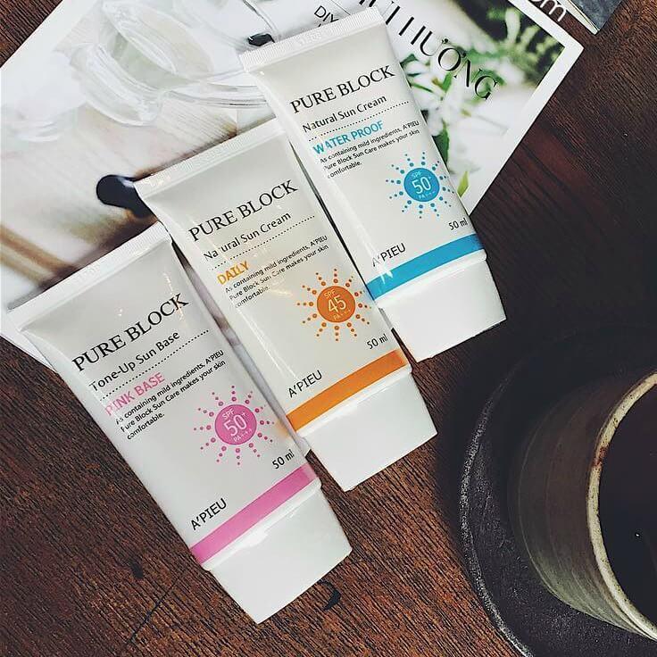 Chống nắng Skincare dưỡng da Everyday Tone Up Sun Base