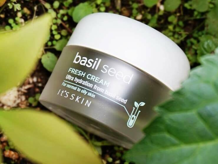 dưỡng ẩm itsskin dưỡng da Basil Seed Fresh Cream