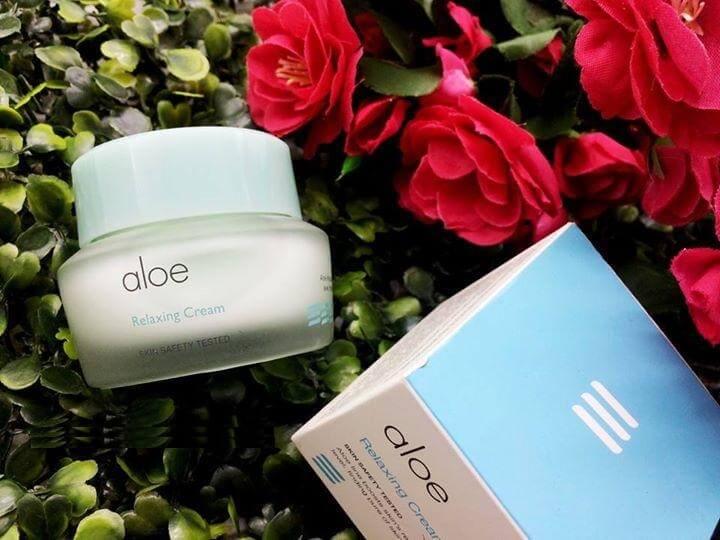 dưỡng da săn chắc itsskin dưỡng da Aloe Relaxing Cream