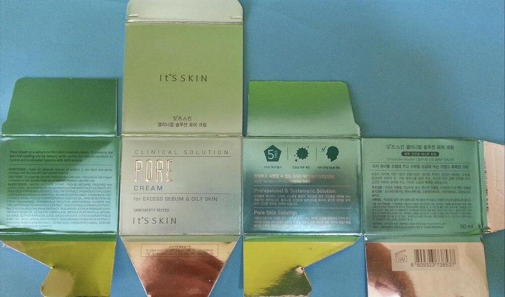 dưỡng da săn chắc itsskin dưỡng da Clinical Solution Pore cream