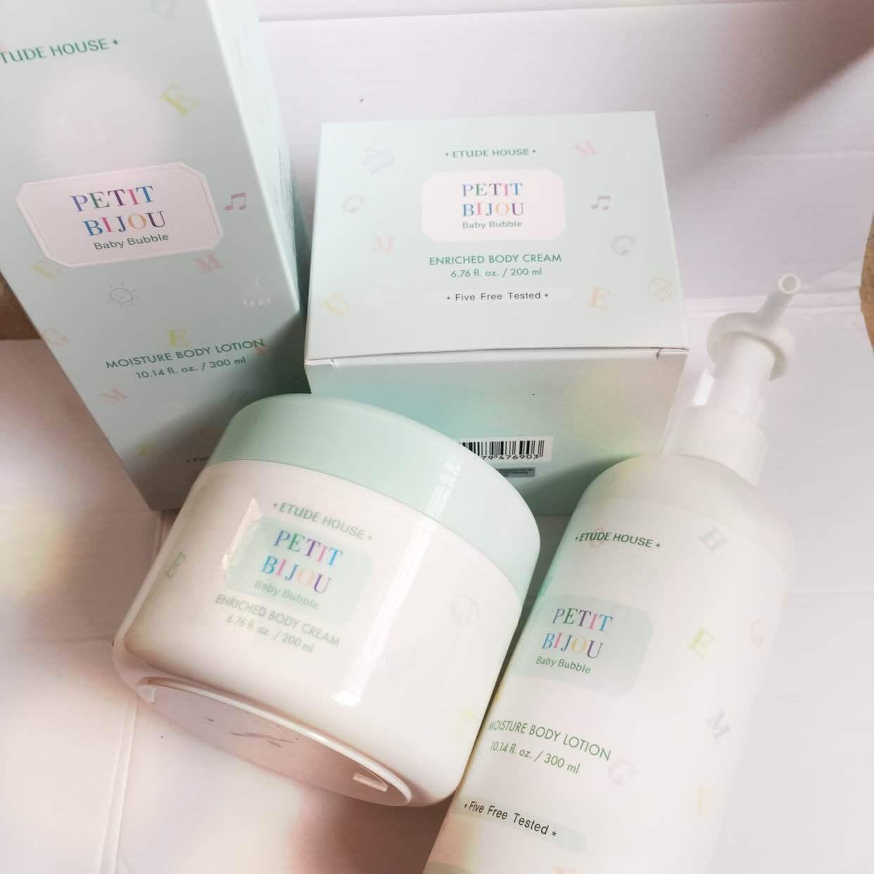 Kem dưỡng ETUDE HOUSE BODY Petit Bijou Enriched Body Cream