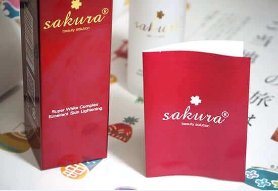 Kem Phục Hồi Sakura Chăm sóc da mặt Sakura Super White Complex