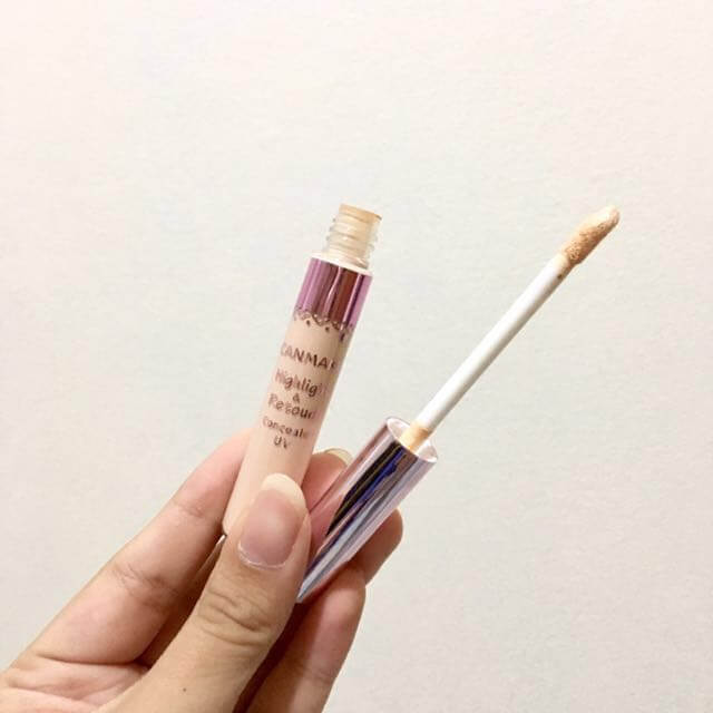 Kem Tạo Sáng canmake make up Highlight&Retouch Concealer UV