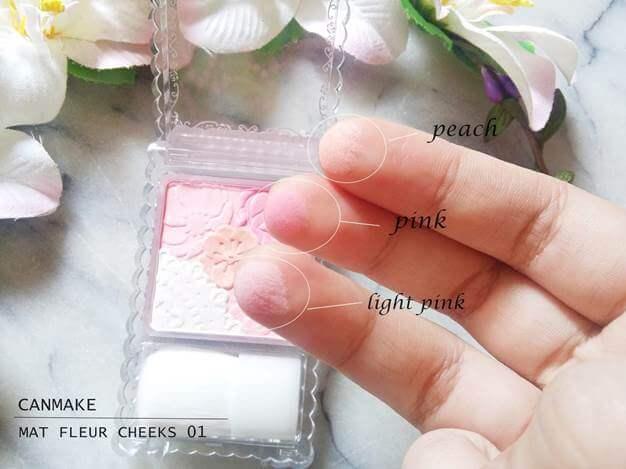 Má Hồng Không Nhũ canmake make up Mat Fleur Cheeks
