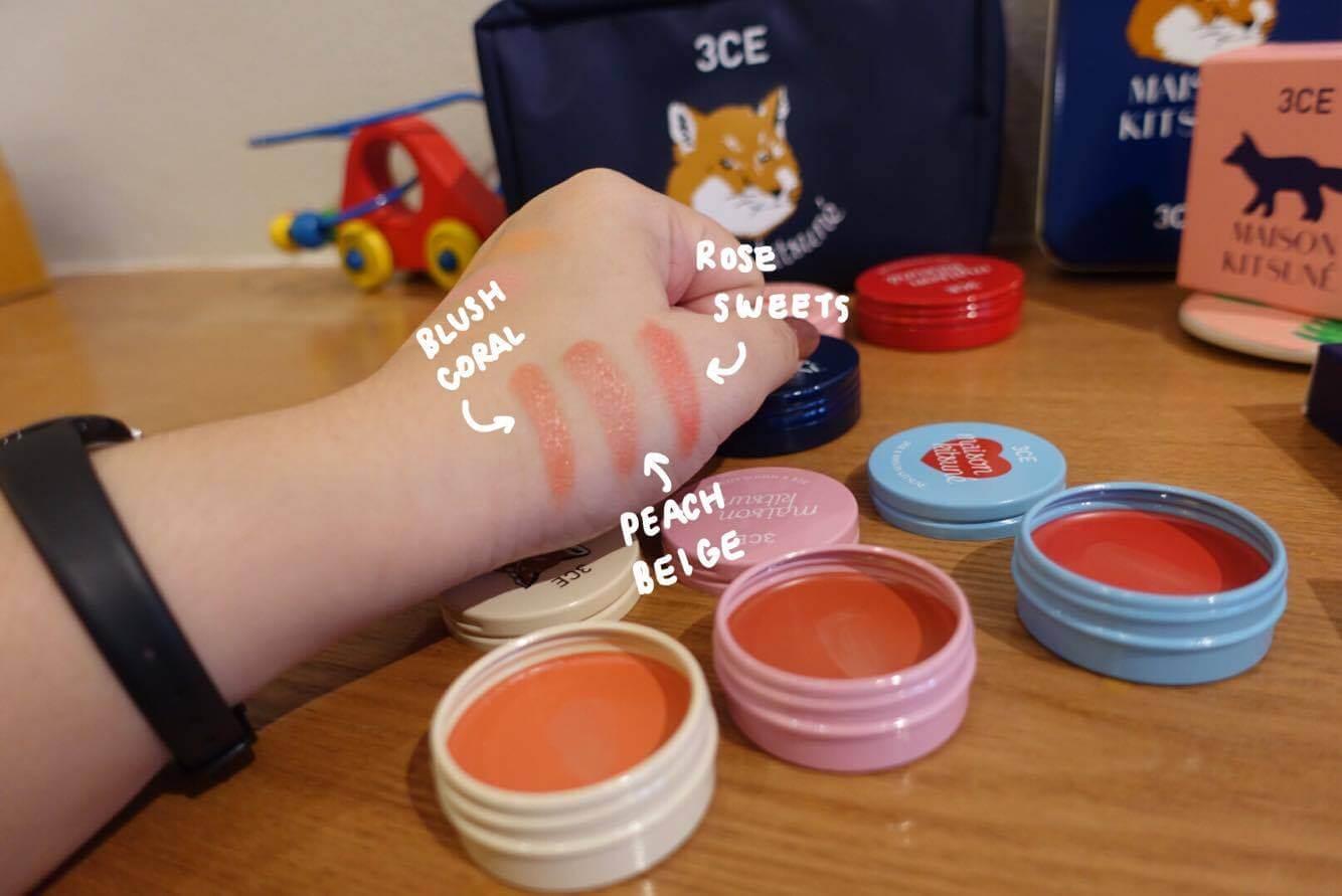 Phấn 3CE Makeup MAISON KITSUNÉ SOFT CHEEK #PURE