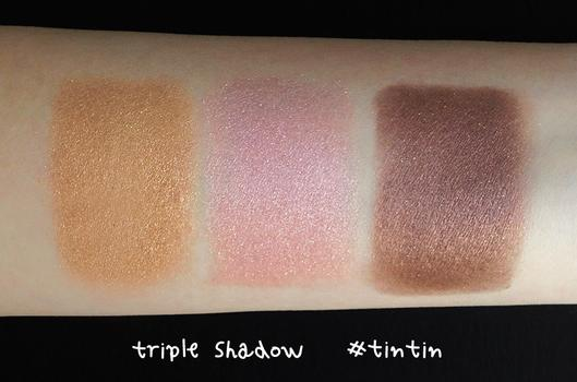 Phấn 3CE Makeup TRIPLE SHADOW #TIN TIN