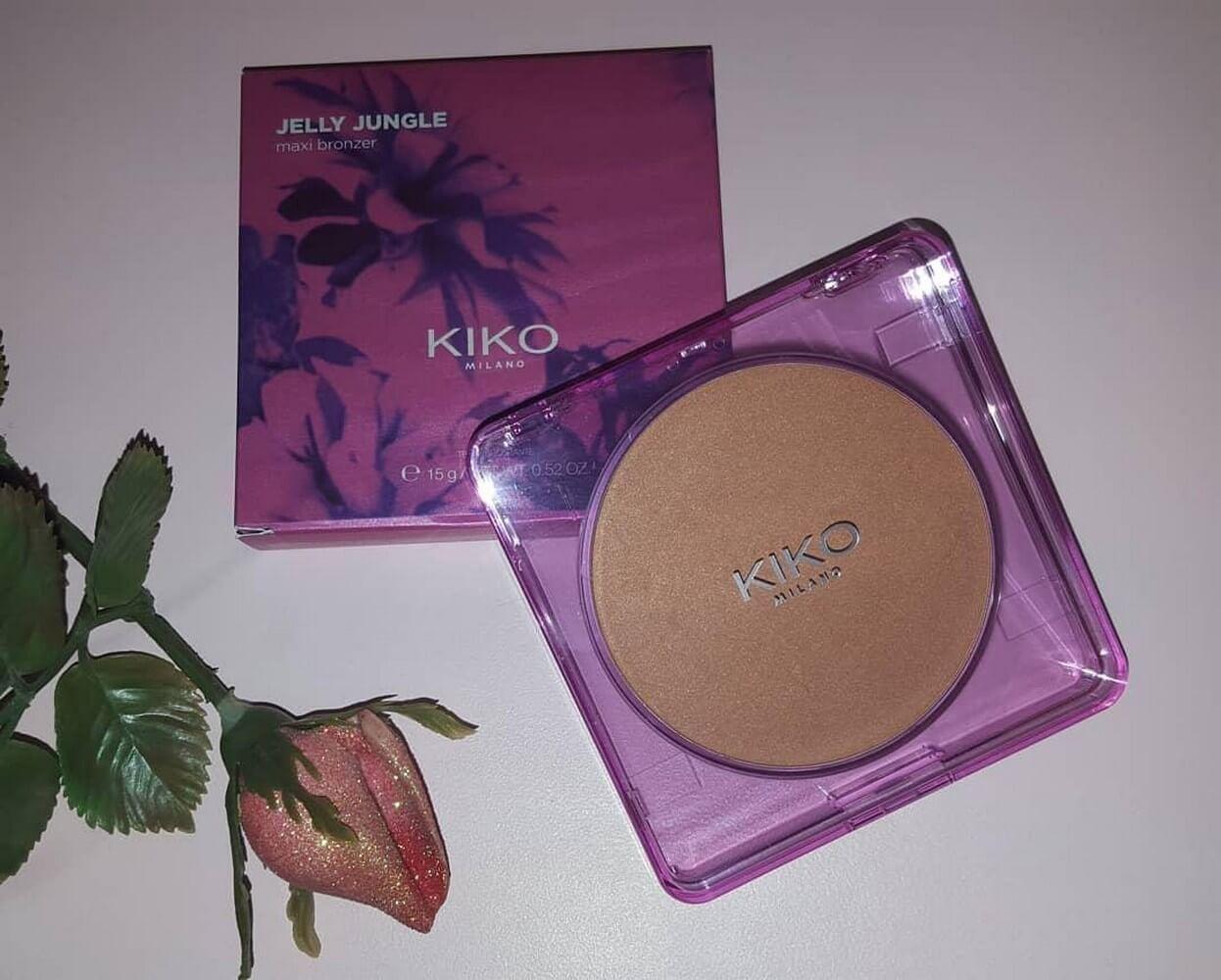 phấn má Kiko makeup JELLY JUNGLE MAXI BRONZER