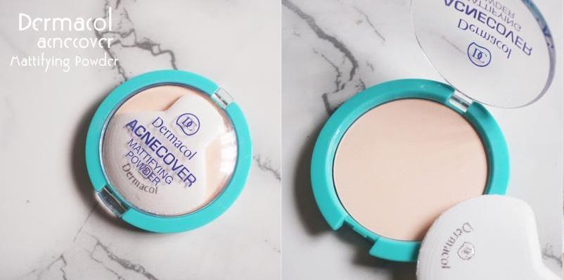 phấn phủ Dermacol Make Up Acnecover mattifying powder