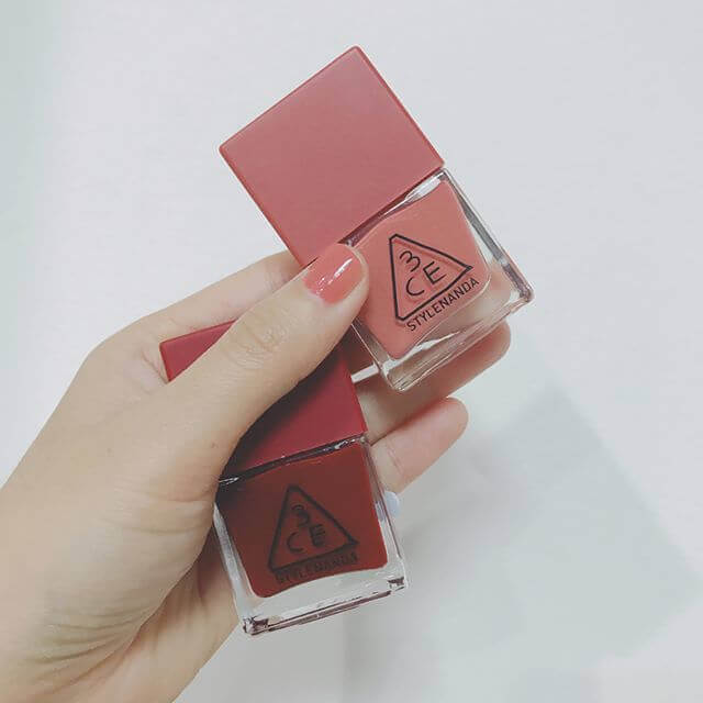 Sơn móng 3CE Makeup ED RECIPE LONG LASTING NAIL LACQUER