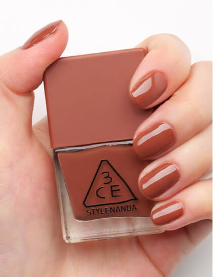 Sơn móng 3CE Makeup MOOD RECIPE LONG LASTING NAIL LACQUER