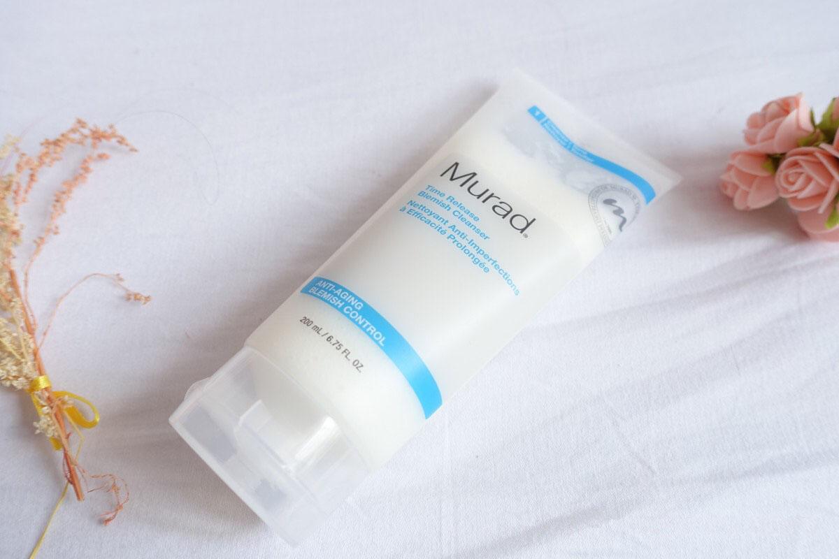 sữa rửa mặt Murad Làm sạch TIME RELEASE BLEMISH CLEANSER