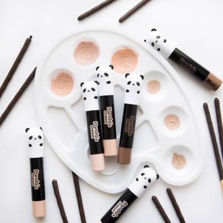 Thanh tạo sáng  tonymoly makeup PANDA DREAM CONTOUR STICK 01 HIGHLIGHTER