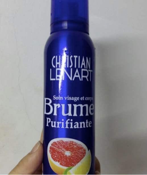 Xịt Dưỡng Ẩm  christianlenart dưỡng ẩm  Brume Energisante