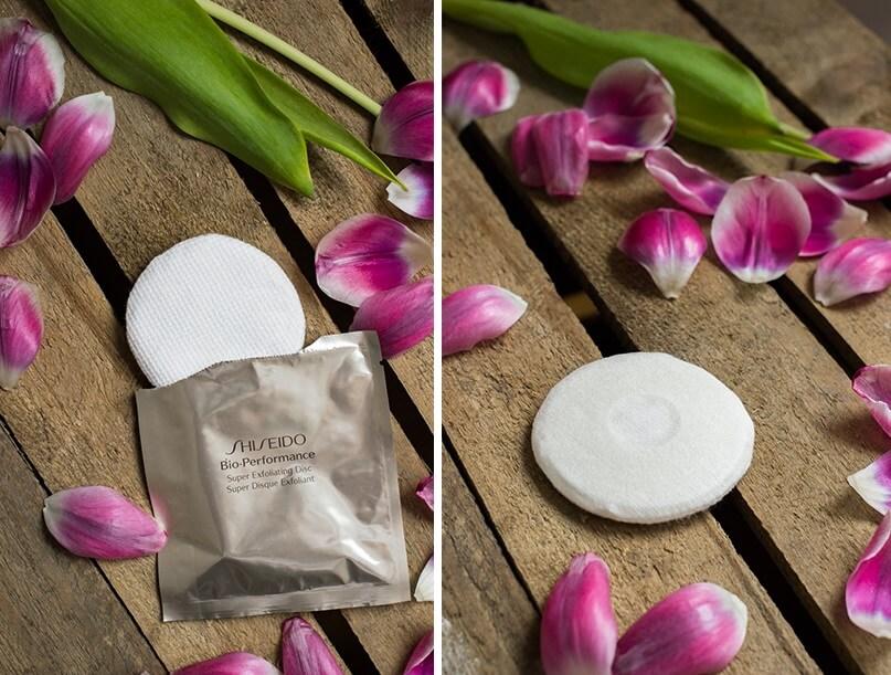 Bông tẩy tế bào chết Shiseido Chăm sóc da Super Exfoliating Discs