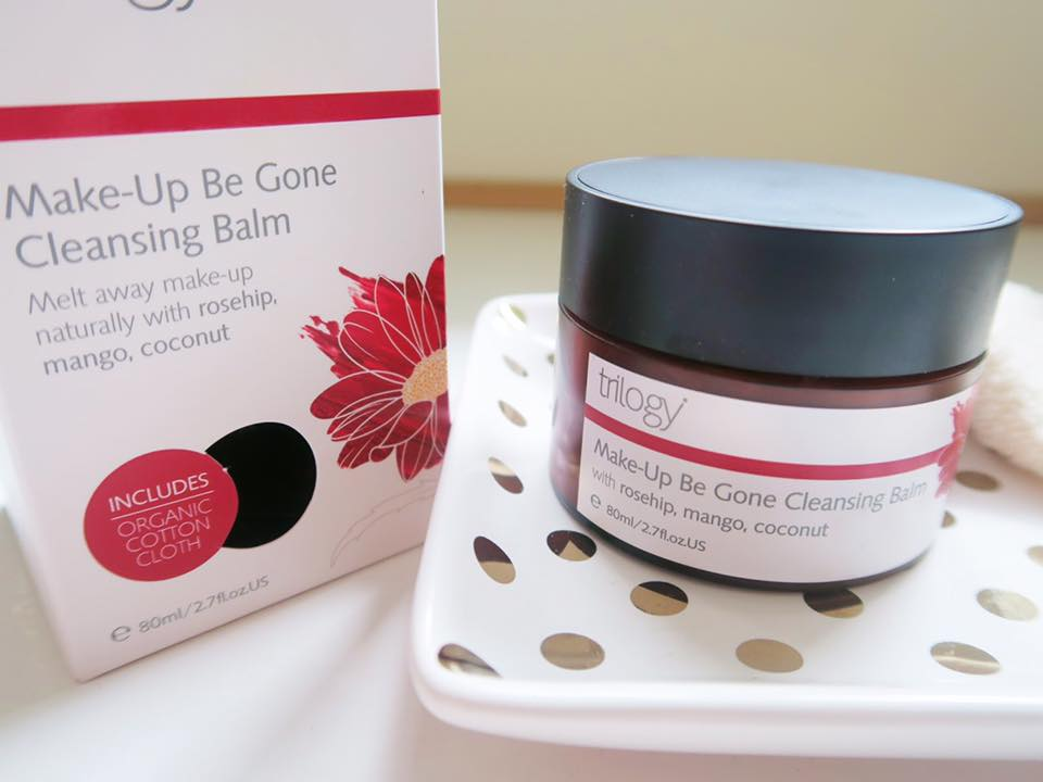 dưỡng ẩm Trilogy Make-Up Be Gone Cleansing Balm