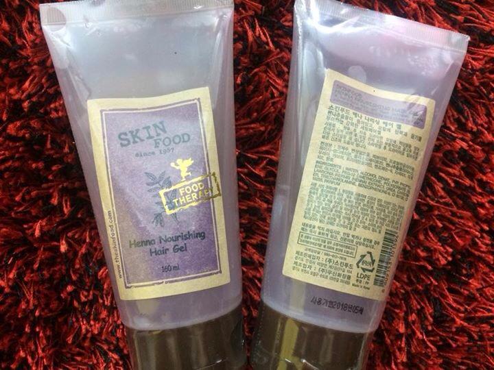 Gel dưỡng SKINFOOD Bath & Body HENNA NOURISHING HAIR GEL