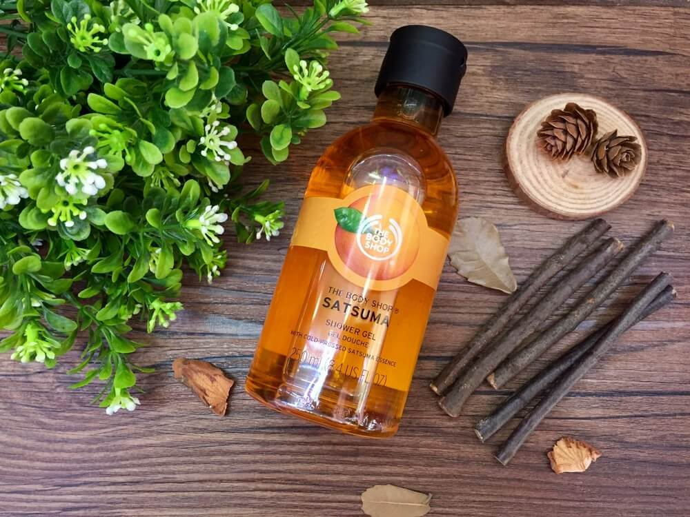Gel tắm TheBodyShop Chăm sóc body SATSUMA SHOWER GEL