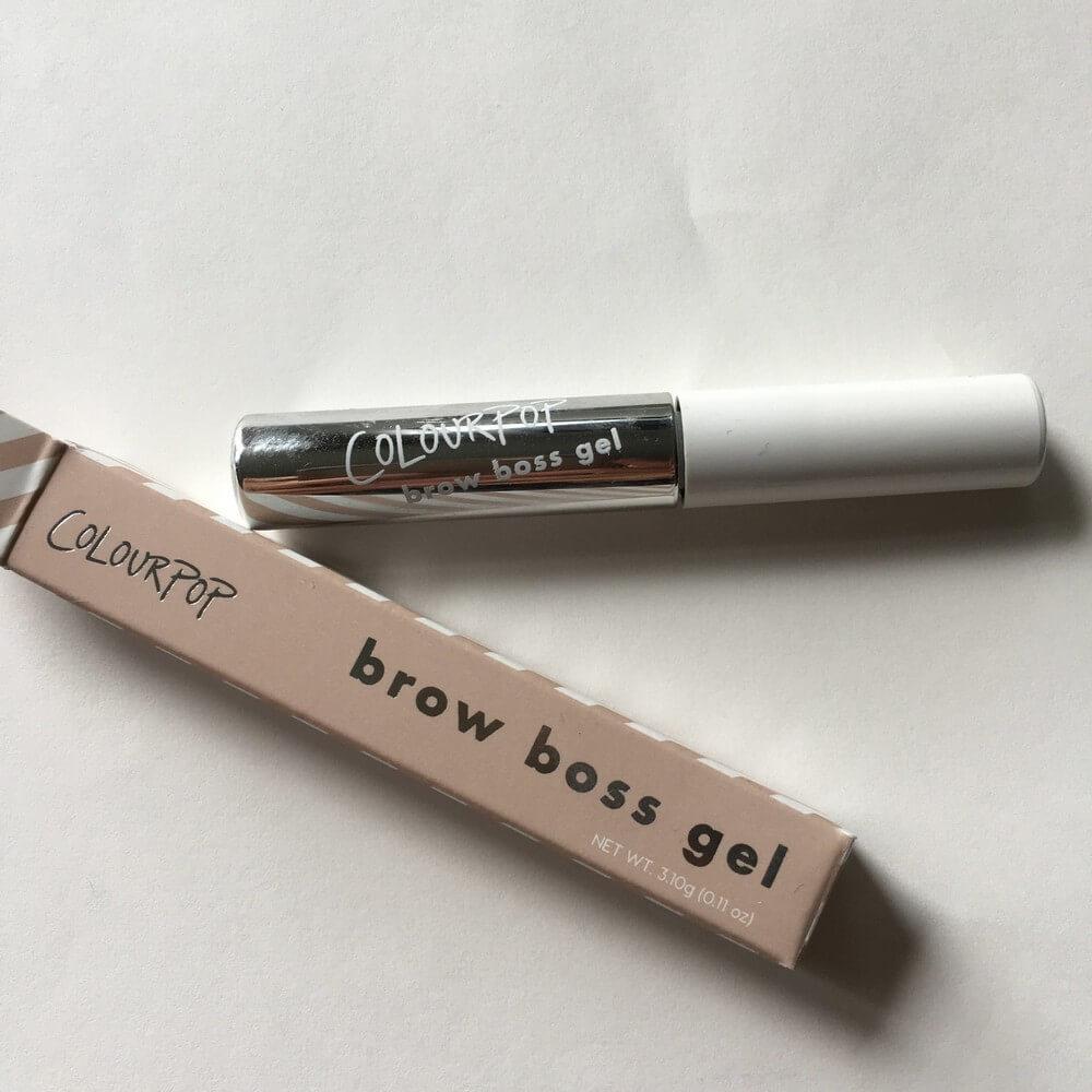 Kẻ mày Colourpop Makeup CLEAR Brow Boss Gel