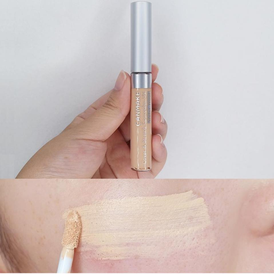 kem che khuyết điểm canmake make up over & Stretch Concealer UV