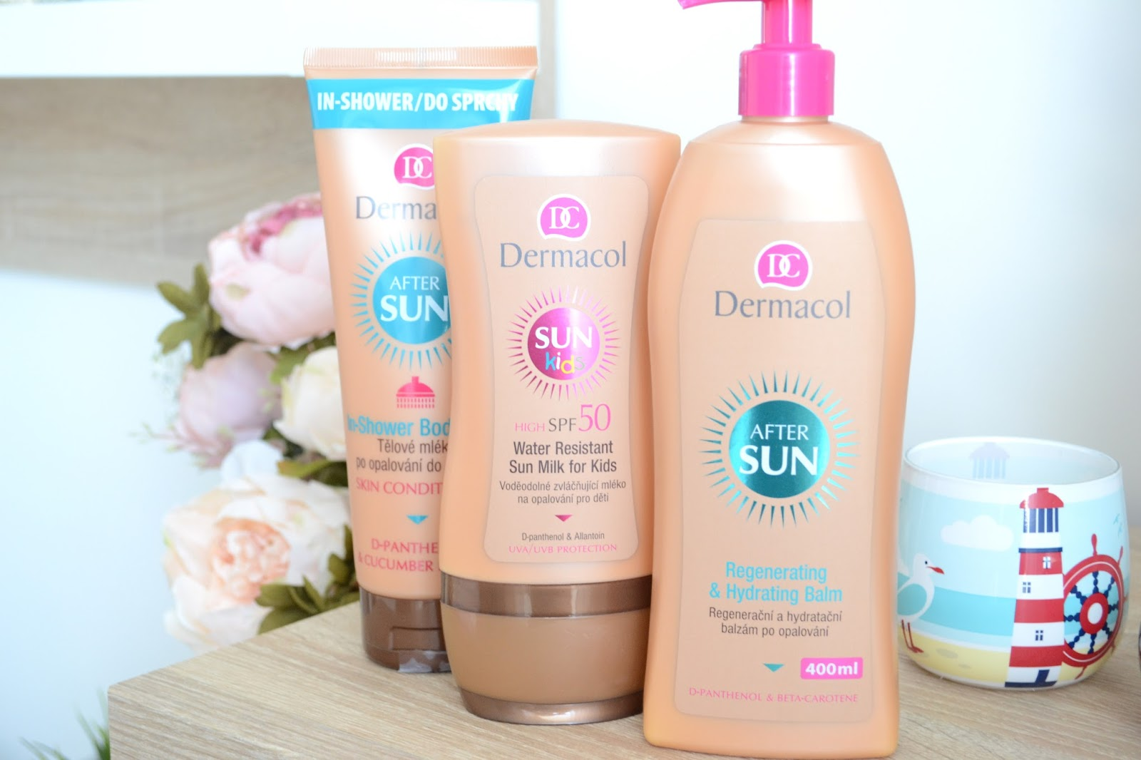 kem chống nắng Dermacol Suncare Regenerating & hydrating balm