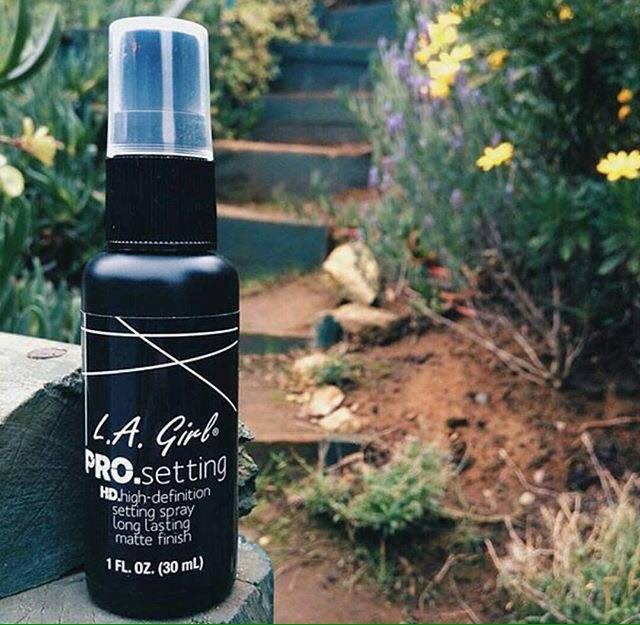 kem L.A. GIRL mekeup Pro Setting Spray