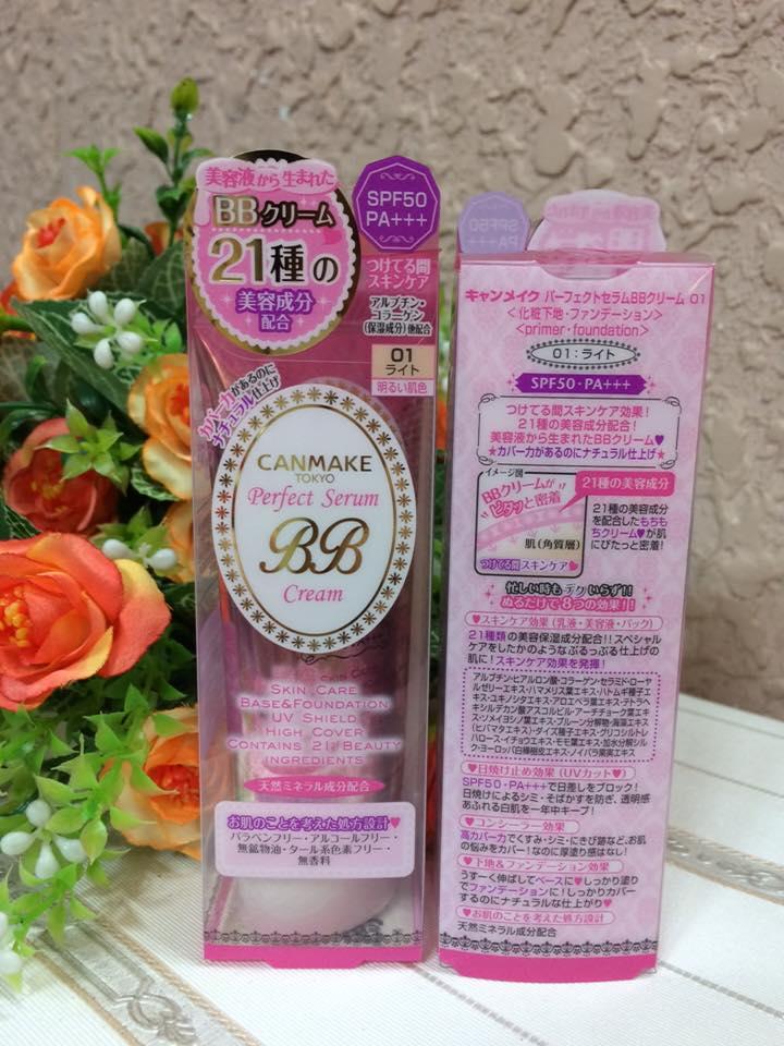 Kem Nền  canmake make up Perfect Serum BB Cream