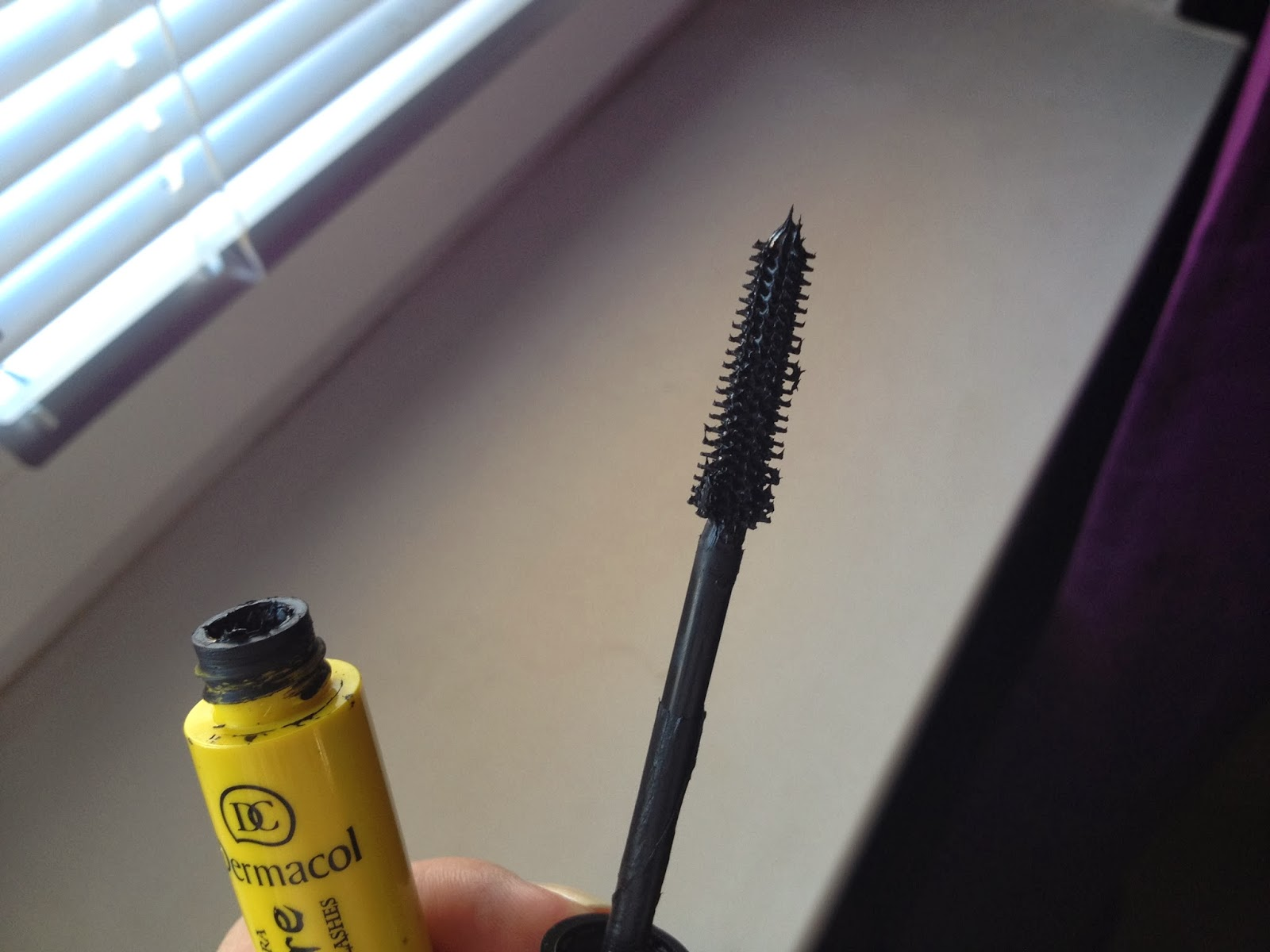 mascara Dermacol Make Up Vampire mega long lashes mascara