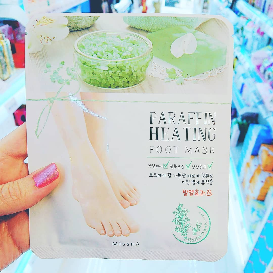 Mặt nạ MISSHA SKINCARE MISSHA PARAFFIN HEATING FOOT MASK