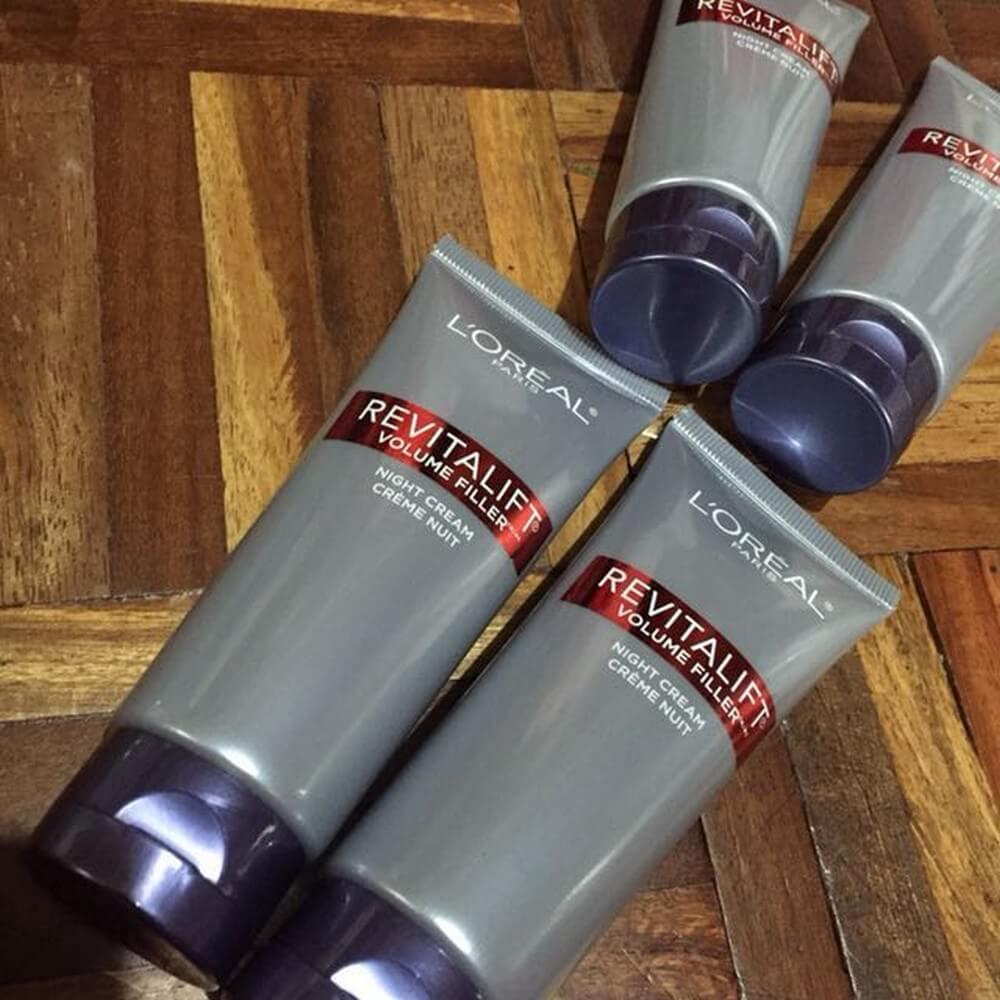Mặt nạ ngủ  L'Oréal Chăm sóc da Volume Filler Night Cream