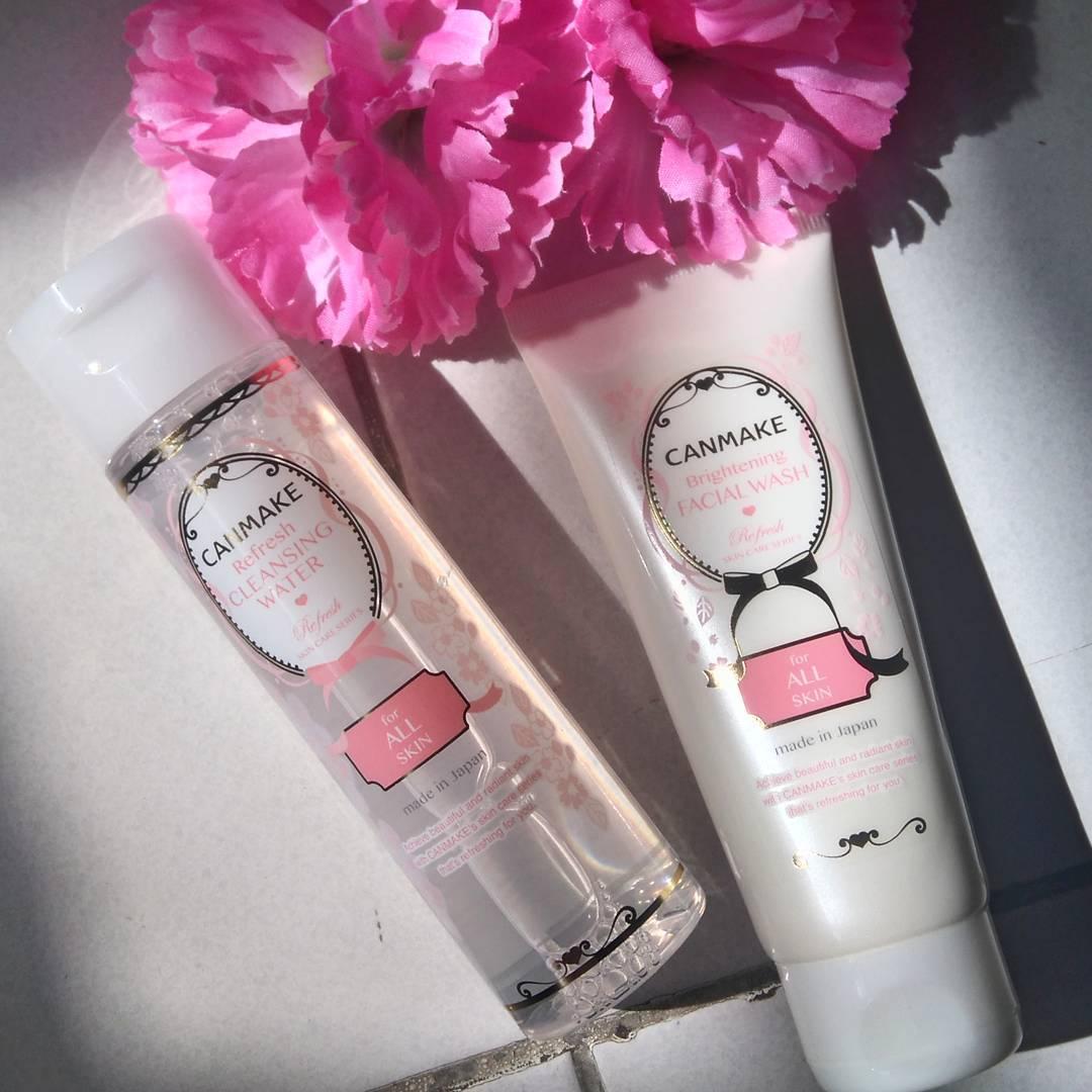 Nước Tẩy Trang canmake make up Refresh Cleansing Water (All Skin Type)