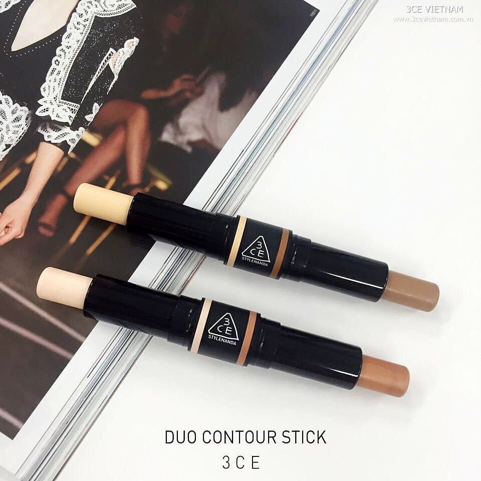 Phấn 3CE Makeup DUO CONTOUR STICK #01