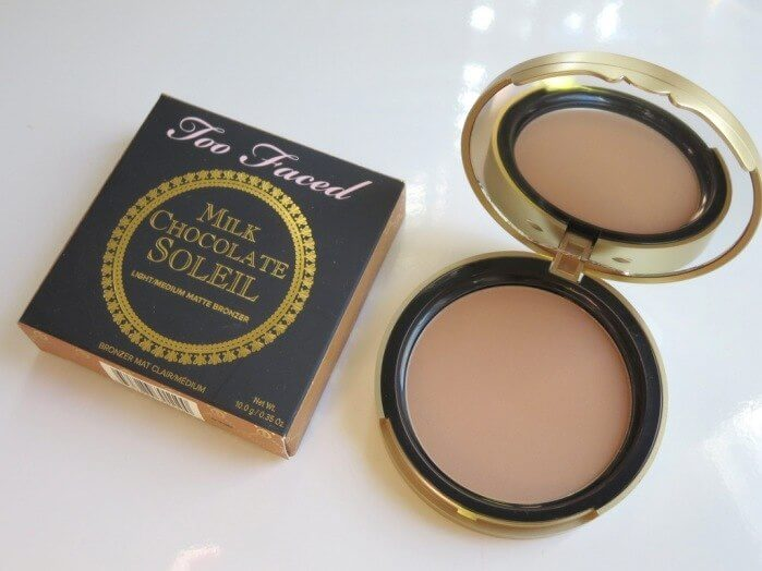 Phấn mắt toofaced make up Travel-Sized Chocolate Gold Soleil Bronzer