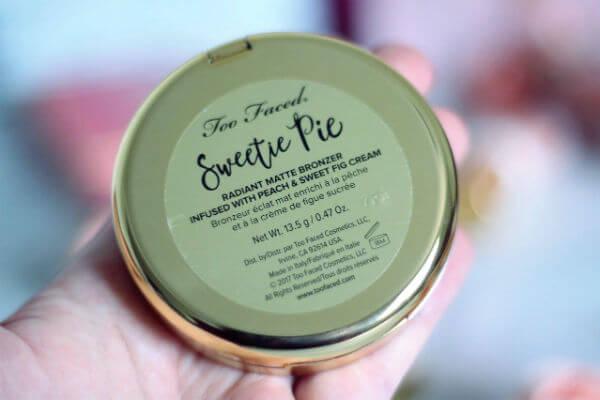 Phấn mắt toofaced Sweetie Pie Bronzer